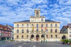 Stadhuis in Weimar, Duitsland stock fotografie