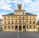 Stadhuis Weimar in Duitsland royalty-vrije stock afbeelding