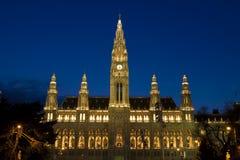 Stadhuis in Wenen Royalty-vrije Stock Afbeeldingen