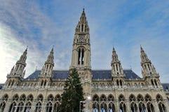 stadhuis in Wenen Stock Foto's