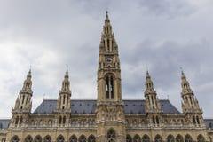 Stadhuis in Wenen stock afbeelding