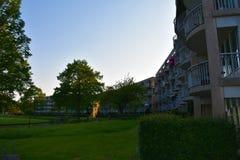 Stadhuis - Zoetermeer- Nederländerna Arkivfoto