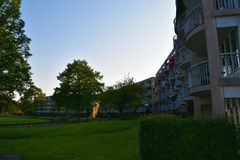 Stadhuis - Zoetermeer- Paesi Bassi Fotografia Stock