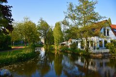 Stadhuisna av Zoetermeer-Nederländerna Fotografering för Bildbyråer