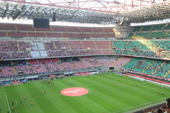 Stadio朱塞佩・梅阿查体育场在米兰,意大利 库存照片