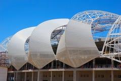 Stadio 2010 della tazza di mondo di calcio della costruzione del tetto Immagini Stock