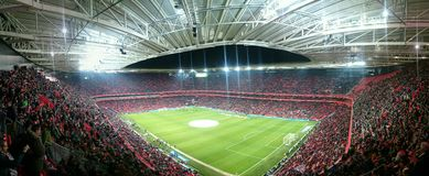 Stadio Bilbao di San Mames Immagini Stock Libere da Diritti