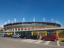 Stadio Comunale stadium in Turin. TURIN, ITALY - CIRCA MARCH 2017: Stadio Comunale Olimpico aka Filadelfia stadium Royalty Free Stock Photo