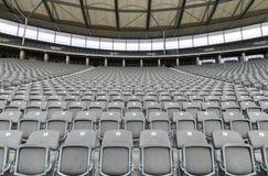 Stadio con il posto vuoto Fotografia Stock