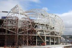 Stadio in costruzione Fotografia Stock Libera da Diritti