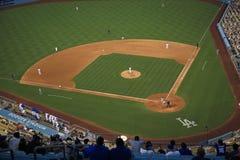 Stadio dei Dodgers - Los Angeles Dodgers Fotografia Stock Libera da Diritti