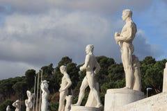 Stadio dei Marmi, Foro Italico, Rome, Italy Royalty Free Stock Photo