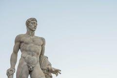 Stadio dei Marmi, Foro Italico, at sunrise, Rome. Italy Stock Photo