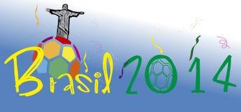 Stadio 2014 del Brasile Fotografia Stock