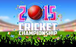 Stadio del cricket Fotografia Stock