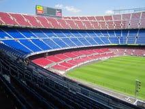 Stadio del FC Barcelona - campo di Nou fotografie stock