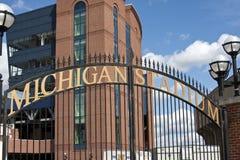 Stadio del Michigan - la grande Camera Fotografie Stock Libere da Diritti