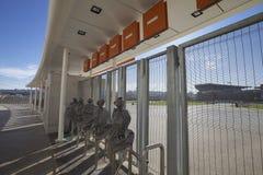 Stadio del Moses Mabhida, tazza di mondo di calcio Fotografia Stock Libera da Diritti