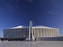 Stadio del Moses Mabhida, tazza di mondo di calcio Immagine Stock Libera da Diritti