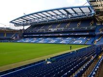 Stadio del ponticello di Chelsea Stamford Fotografie Stock