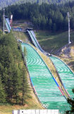 Stadio del Trampolino in Pragelato, Italy Royalty Free Stock Photography