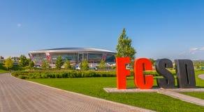 Stadio dell'arena di Donbass Immagine Stock Libera da Diritti