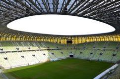 Stadio dell'arena di PGE a Danzica, Polonia Fotografie Stock Libere da Diritti