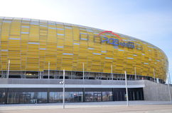 Stadio dell'arena di PGE a Danzica, Polonia Fotografia Stock Libera da Diritti