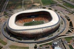 Stadio della città di calcio, Soweto immagini stock