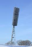 Stadio della lampada immagine stock