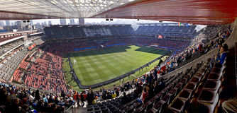 Stadio della sosta di Ellis panoramico - WC 2010 della FIFA fotografie stock