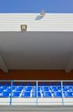 Stadio della tribuna sotto il tetto Immagini Stock