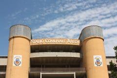 Stadio di Arechi, Salerno (Italia) Fotografie Stock Libere da Diritti