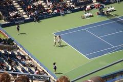 Stadio di Ashe - gli Stati Uniti aprono il tennis immagini stock libere da diritti