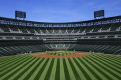 Stadio di baseball immagini stock