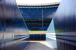 Stadio di baseball Immagine Stock