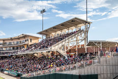 Stadio di baseball dell'isotopo del New Mexico Immagini Stock