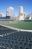 Stadio di baseball vuoto Fotografia Stock Libera da Diritti