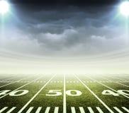Stadio di calcio americano illustrazione di stock