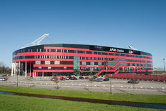 Stadio di calcio di AZ Alkmaar Fotografie Stock Libere da Diritti