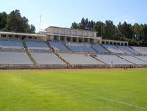 Stadio di calcio vuoto Immagini Stock Libere da Diritti