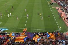 Stadio di Camp Nou, Barcellona, Spagna - 2 settembre 2018 immagine stock libera da diritti