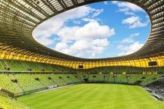 Stadio di Danzica dell'arena per l'euro 2012 Immagini Stock