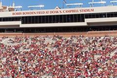 Stadio di Doak Campbell, università di Stato della Florida Fotografia Stock