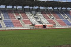 Stadio di football americano immagine stock