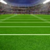 Stadio di football americano con lo spazio della copia fotografie stock