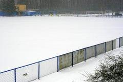 Stadio di inverno fotografia stock