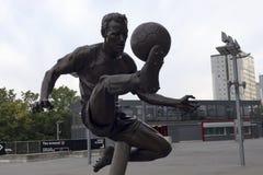 Stadio di football americano degli emirati dell'arsenale - Dennis Bergkamp Immagine Stock