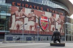 Stadio di football americano degli emirati dell'arsenale - Thierry Henry Fotografie Stock