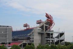 Stadio di football americano del campo di LP a Nashville Fotografia Stock Libera da Diritti